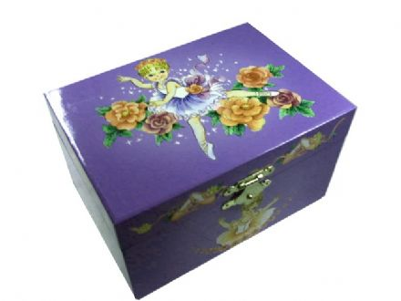 Ballet Childrens Music Box CB22014